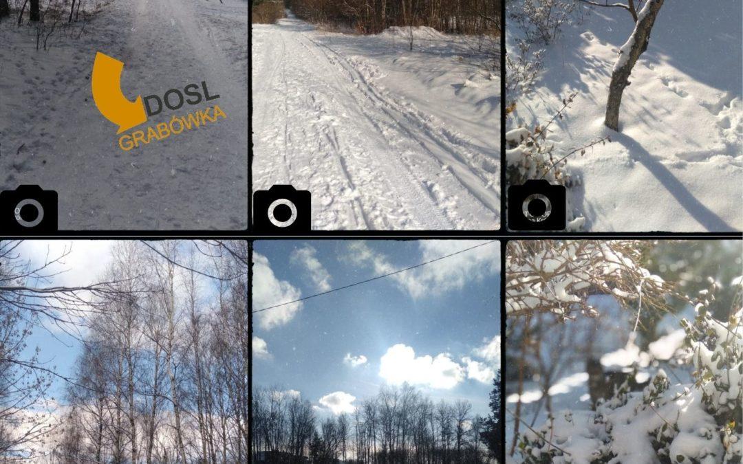 DOSL Grabówka. Aktywność fizyczna zimą.