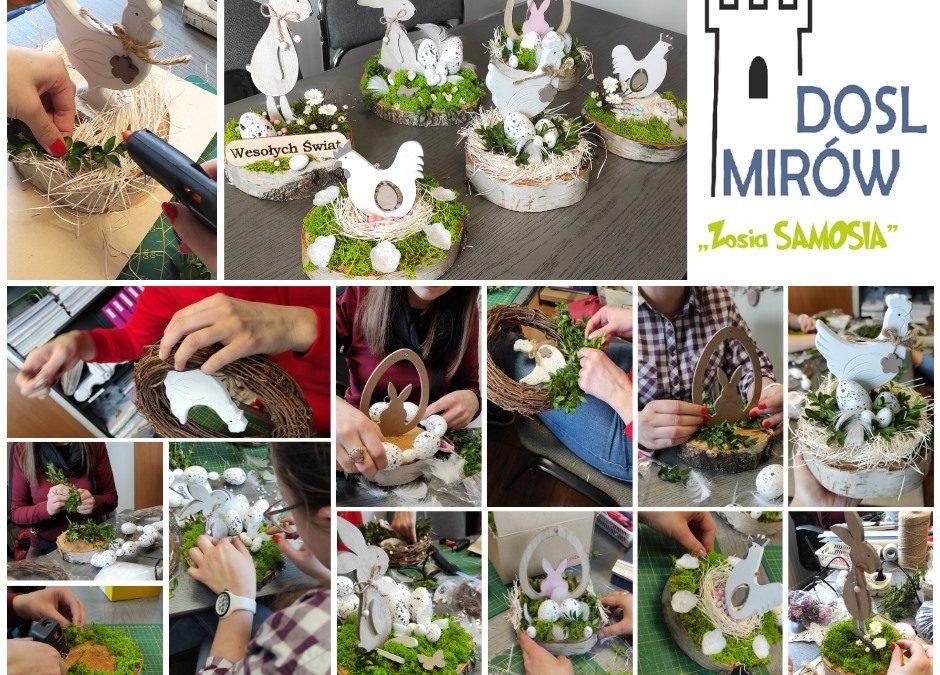ZosiaSamosia tworzy dekoracje Wielkanocne