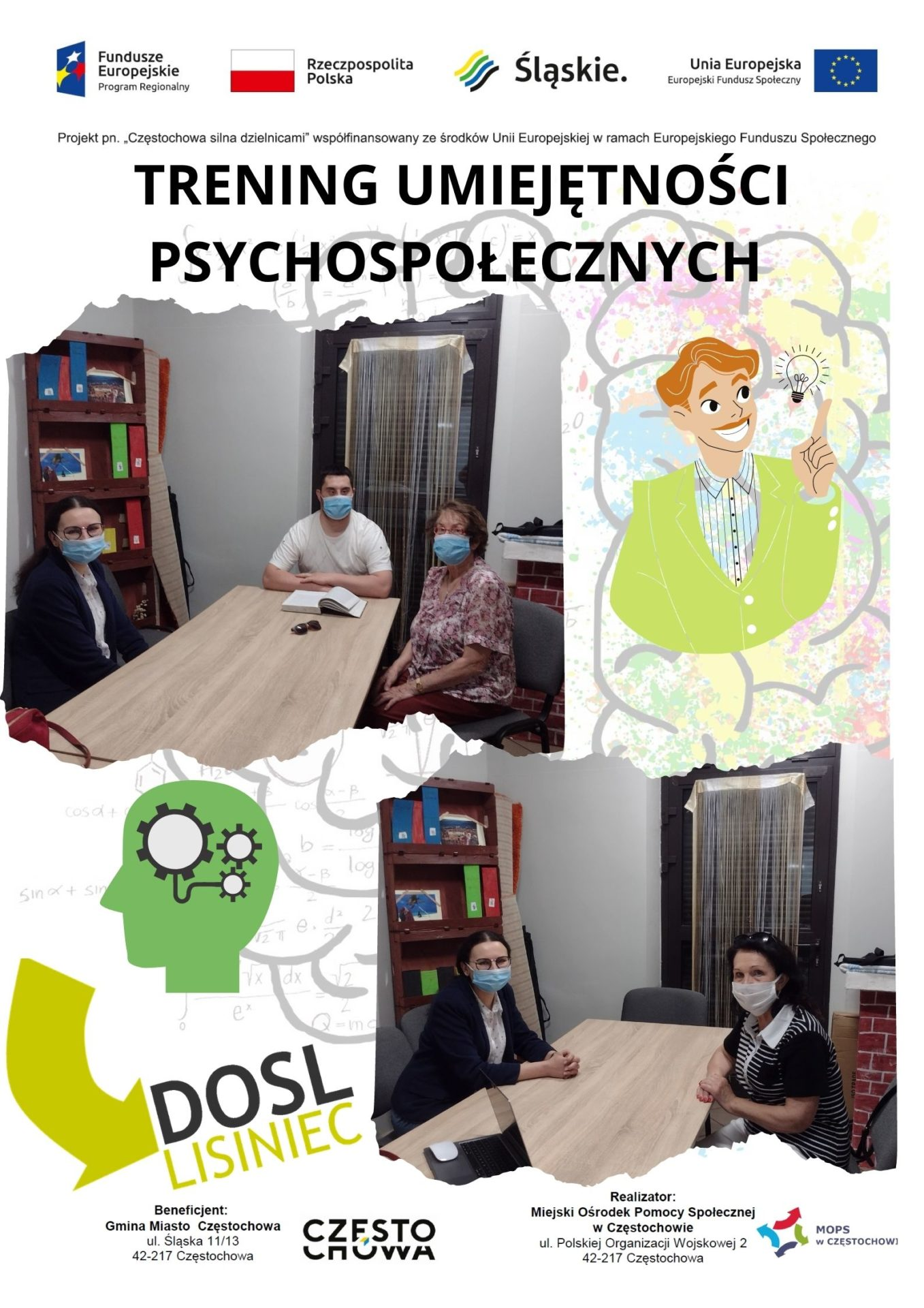 Trening umiejętności psychospołecznych