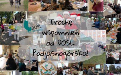 DOSL Podjasnogórska. Trochę wspomnień od Dzielnicowego Ośrodka Społeczności Lokalnej Podja snogórska!