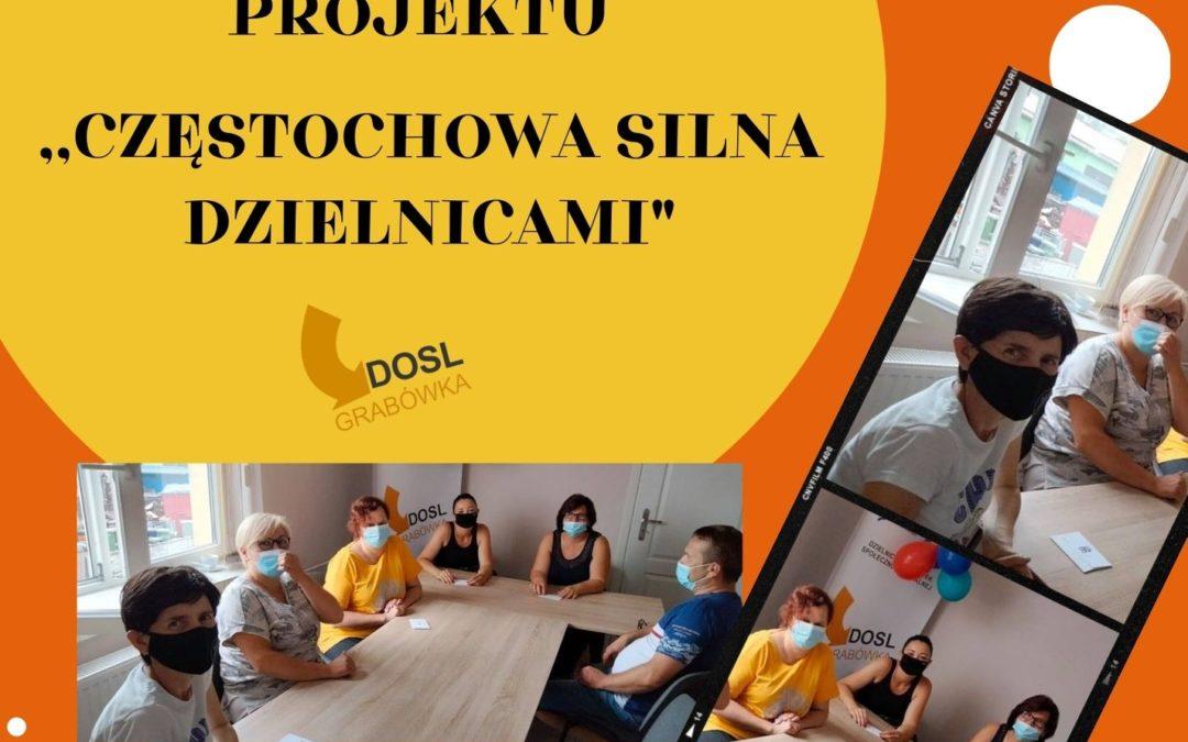 DOSL Grabówka. Spotkanie z uczestnikami projektu.