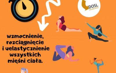 DOSL Grabówka. Trening pilates.