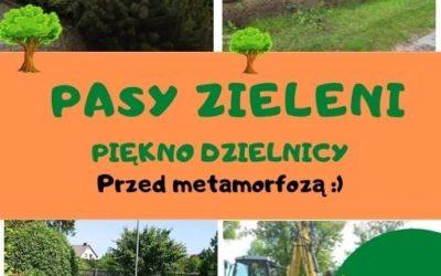 DOSL Grabówka. Pasy zieleni w dzielnicy.