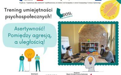 DOSL Podjasnogórska. Trening umiejętności psychospołecznych