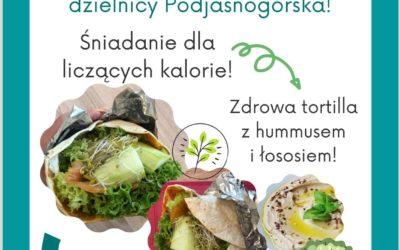 DOSL Podjasnogórska. Zdrowe przepisy Mieszkańców dzielnicy.