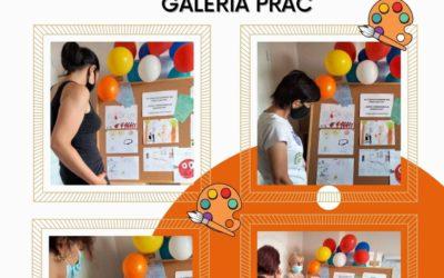 """DOSL Grabówka. ,,Dzieci uświadamiają dorosłych"""" wystawa prac plastycznych."""